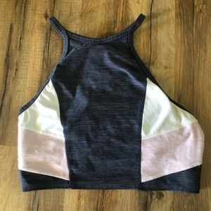 PINK double lined sports bra